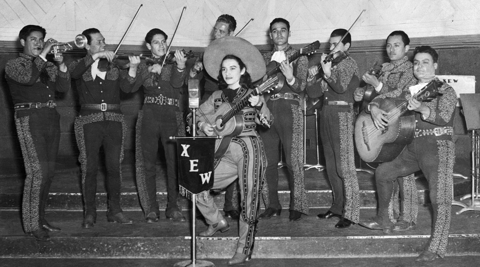 Rita Vidaurri XEW performance Mar09