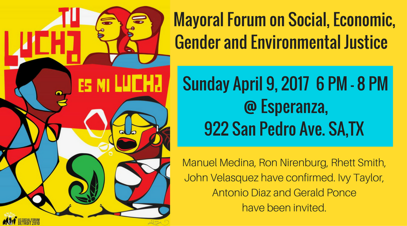 Mayoral Forum on Socialjustice_fb